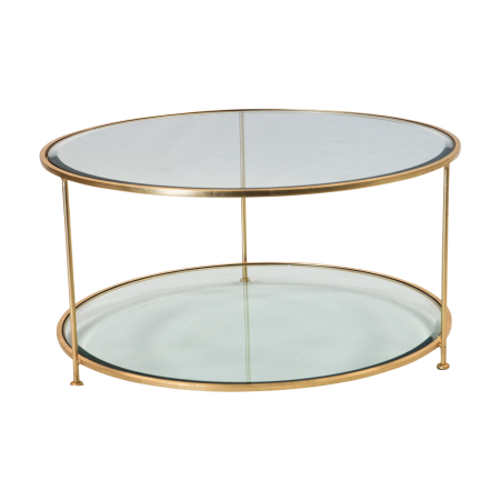 Round Table 95841.Aero Round Coffee Table Theoni Collection